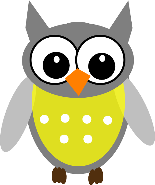 498x595 Small Owl Clipart (67+)