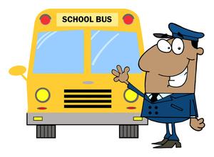300x221 School Bus Driver Cartoon Clipart Image