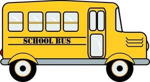 300x165 School Bus Clip Art Clipart Panda