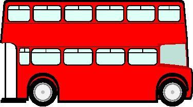 376x209 Deluxe Clip Art Bus Cute