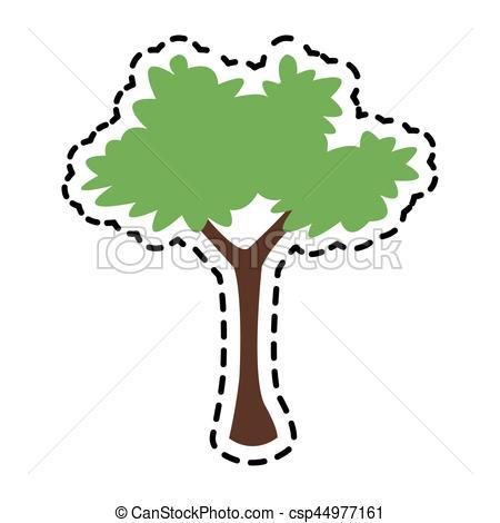 450x470 Bush Plant Icon Image Vector Illustration Design Clip Art Vector