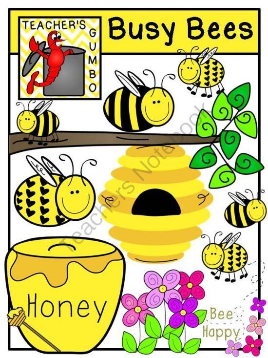 550x733 Busy Bees Clipart Bundle From Teacher's Gumbo On Teachersnotebook