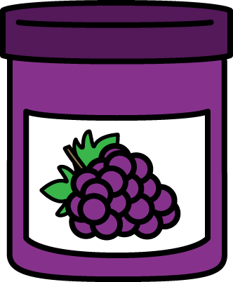 332x402 Peanut Butter And Jelly Clip Art