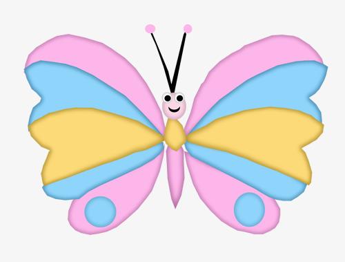500x379 Cartoon Butterfly, Cartoon, Cartoon Clipart, Butterfly Clipart Png