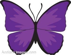 300x233 Free Cartoon Butterfly Clipart Clipartpig