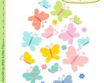 340x270 Clip On Butterflies