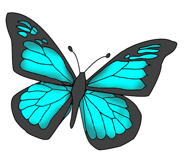 591x514 Monarch Butterfly Mother's Day Clip Art