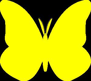 300x267 Bright Butterfly Clip Art