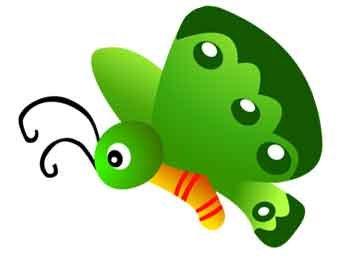 350x263 Green Butterfly Clipart Clipart Panda