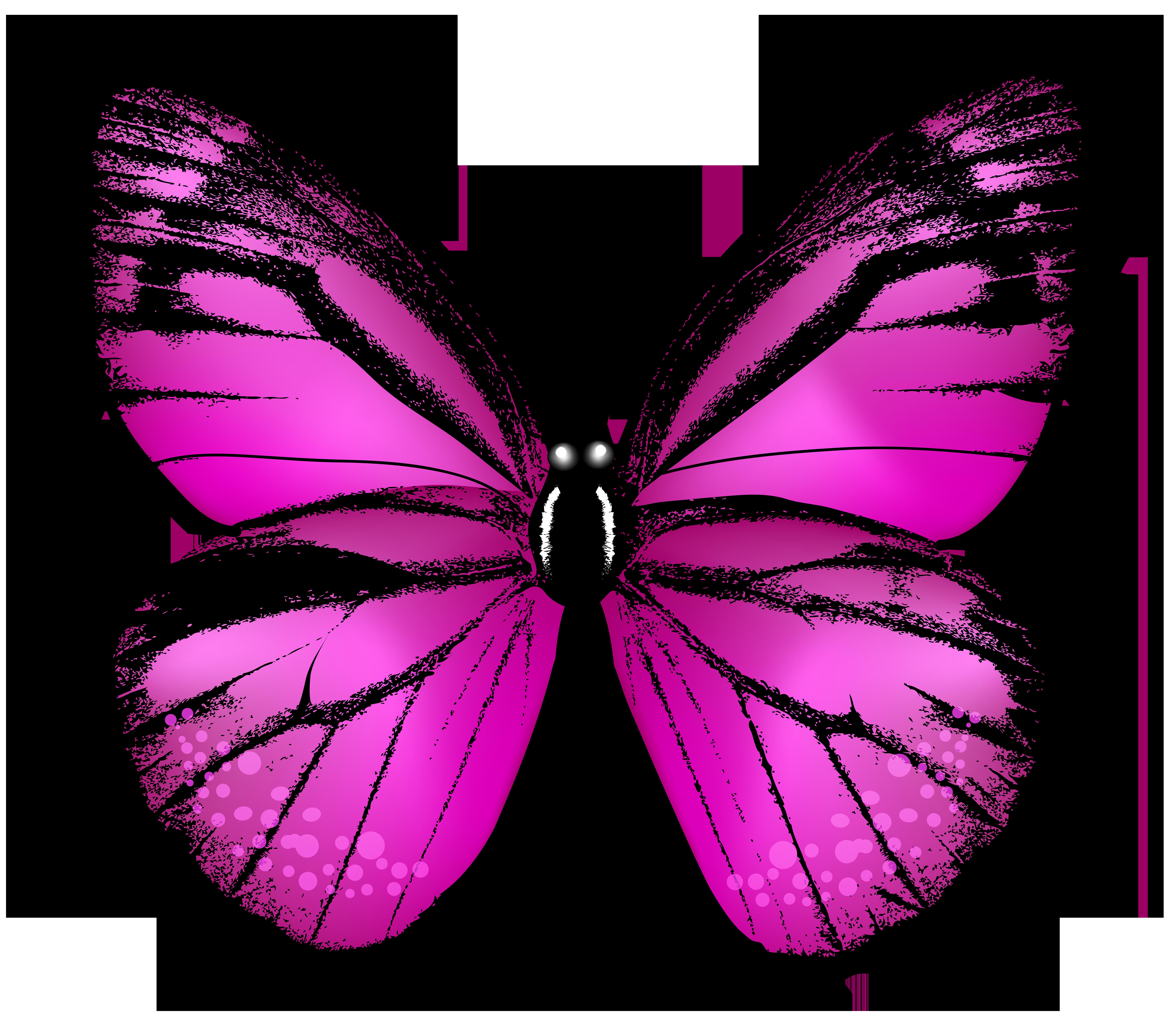 8000x6914 Pink Butterfly Transparent Clip Art Imageu200b Gallery Yopriceville