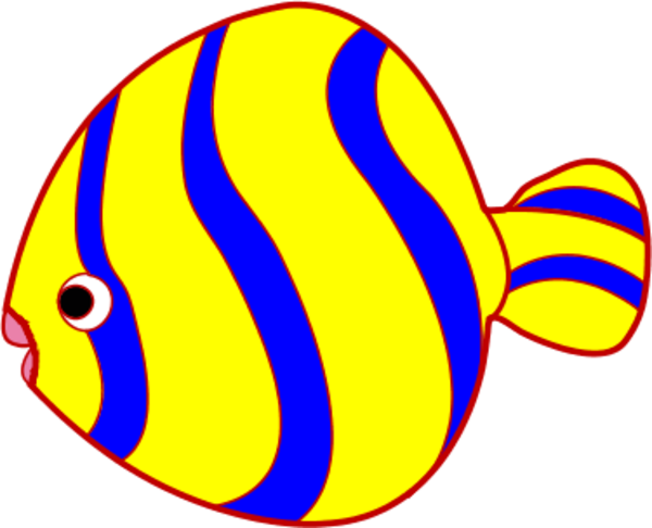 Butterfly Fish Clipart