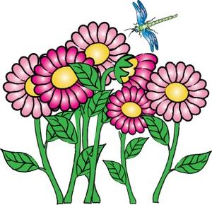 300x290 Butterfly Flower Clip Art Clipart Panda