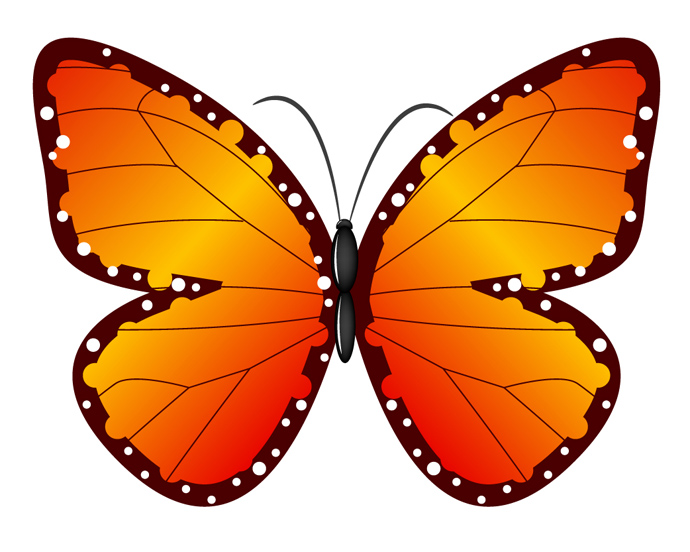 690x552 Butterfly Free Clipart
