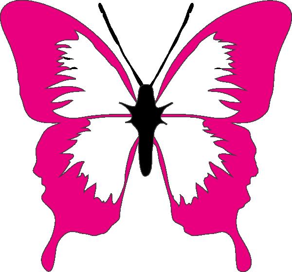 600x559 Free Butterfly Clip Art Butterfly Clip Arte Pintar Nombre