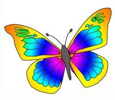 236x205 Butterfly Clip Art