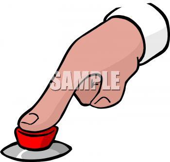 350x333 Finger Pushing A Button