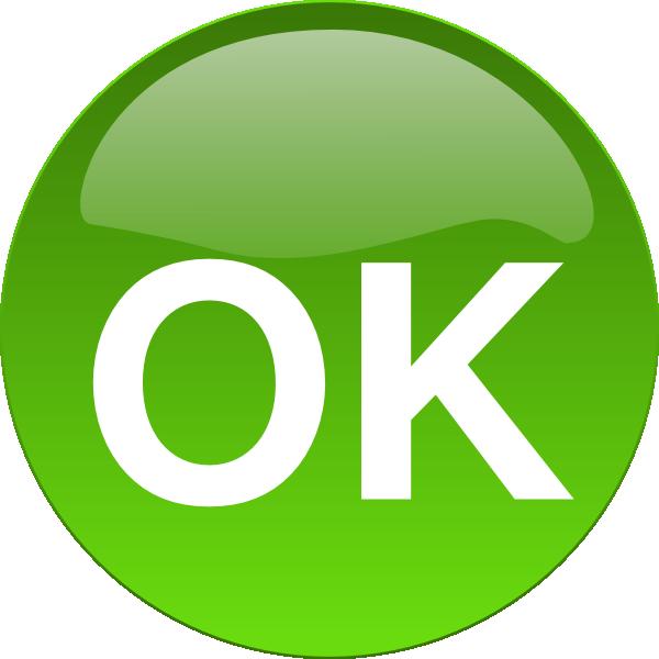 600x600 Ok Button Png, Svg Clip Art For Web