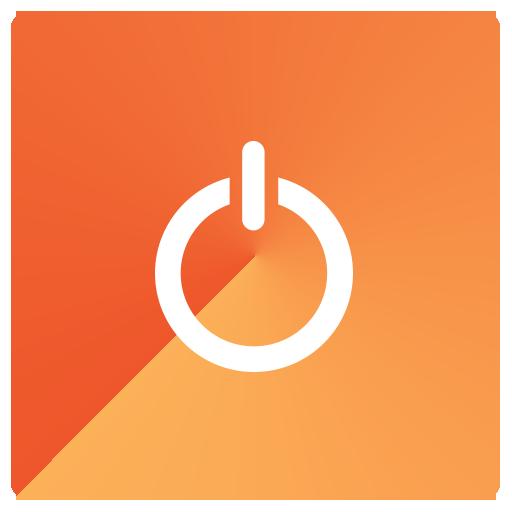512x512 Shutdown Button Clipart Orange Power
