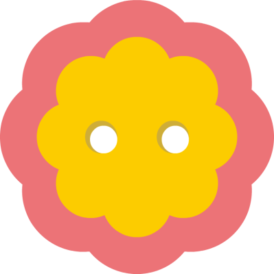399x400 Sunflower Button Cliparts