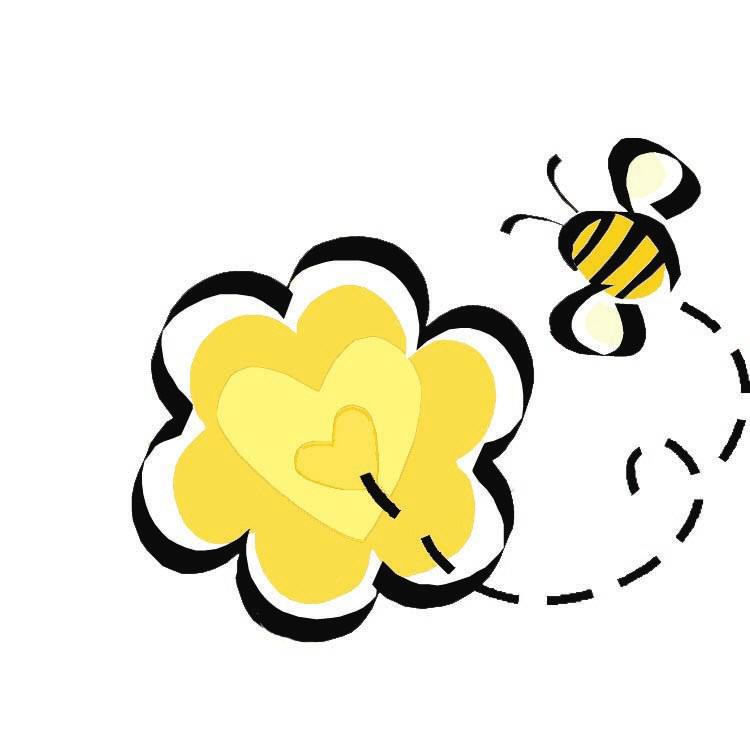 750x734 Free Buzzing Bee Clipart Image