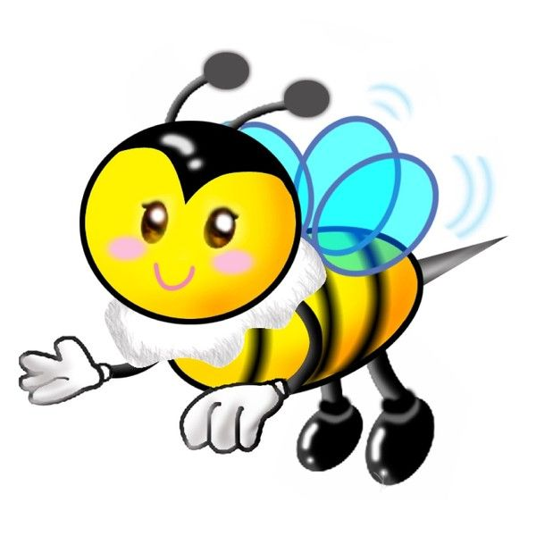 600x600 Pin By Amy On Buzzing Bees Bee Clipart, Buzz Bee