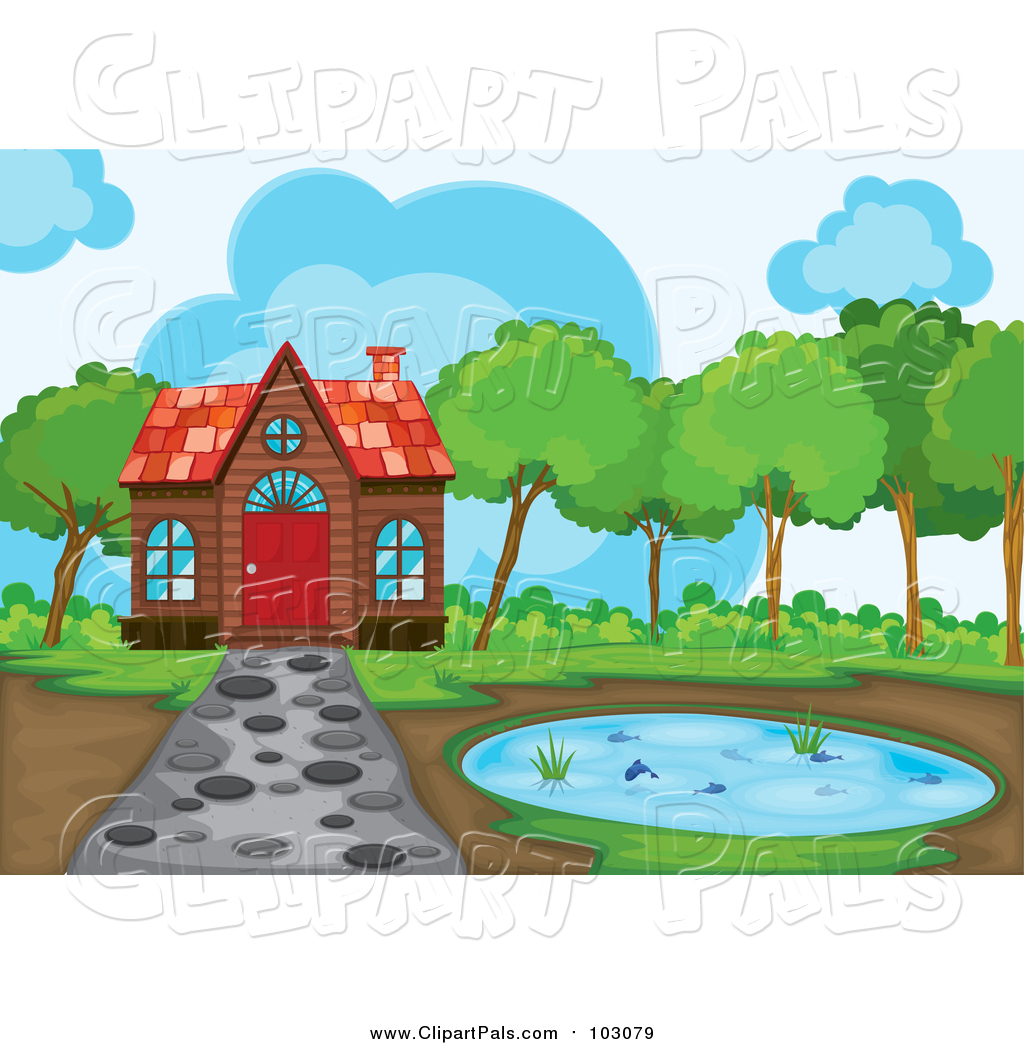 1024x1044 Clip Art Pond Clip Art