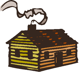 323x297 Log Cabin Clipart Free Download Clip Art On 2