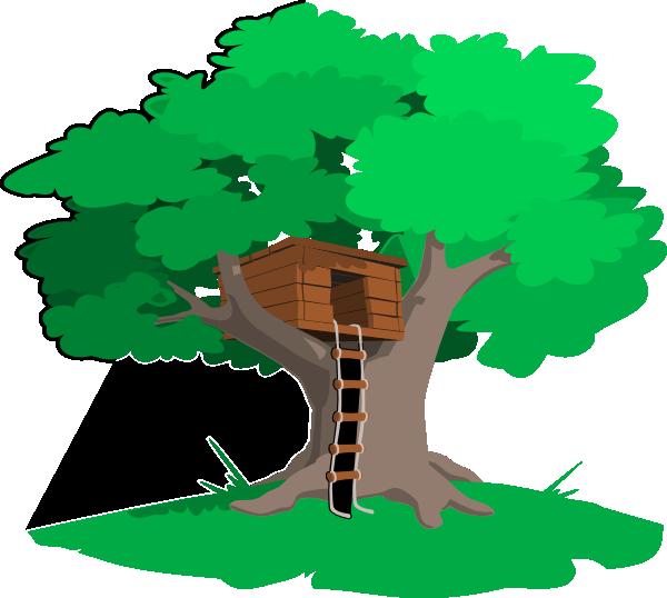 600x538 Tree House Clip Art
