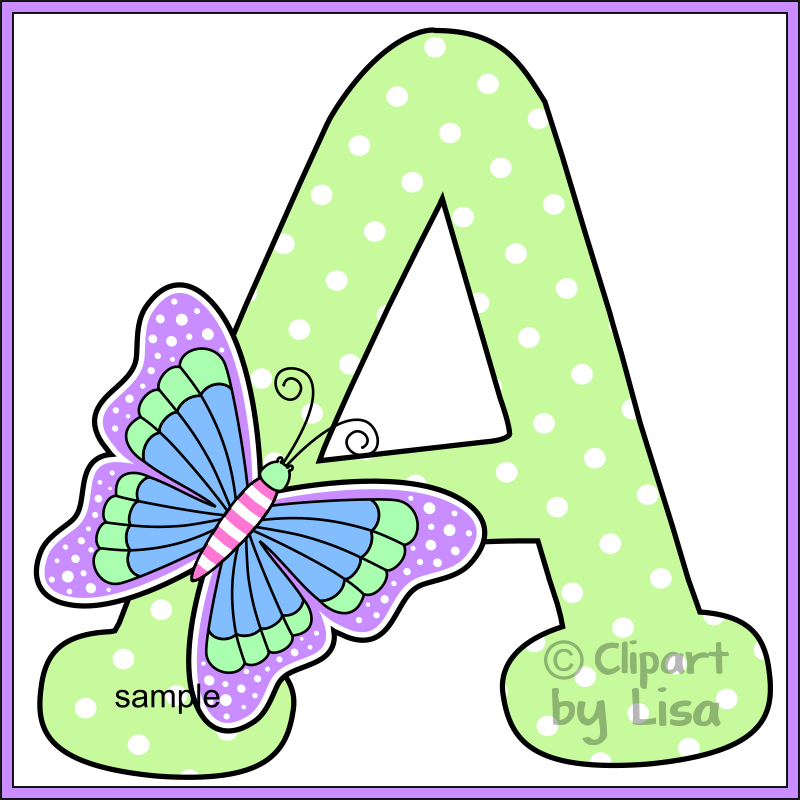 800x800 Alphabet Letters Clipart