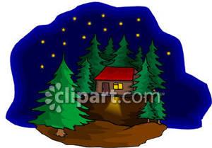 300x209 Camp Cabin Clipart Cliparthut