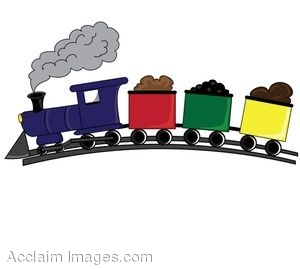 300x269 Locomotive Clipart Caboose