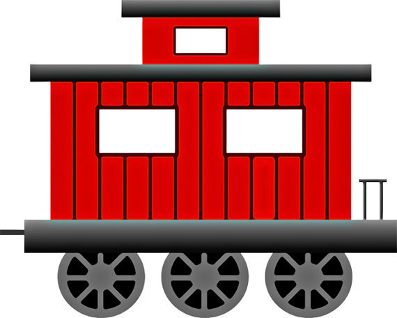 570x456 Caboose Clip Art Little Red Caboose Image Train Image Train Wall