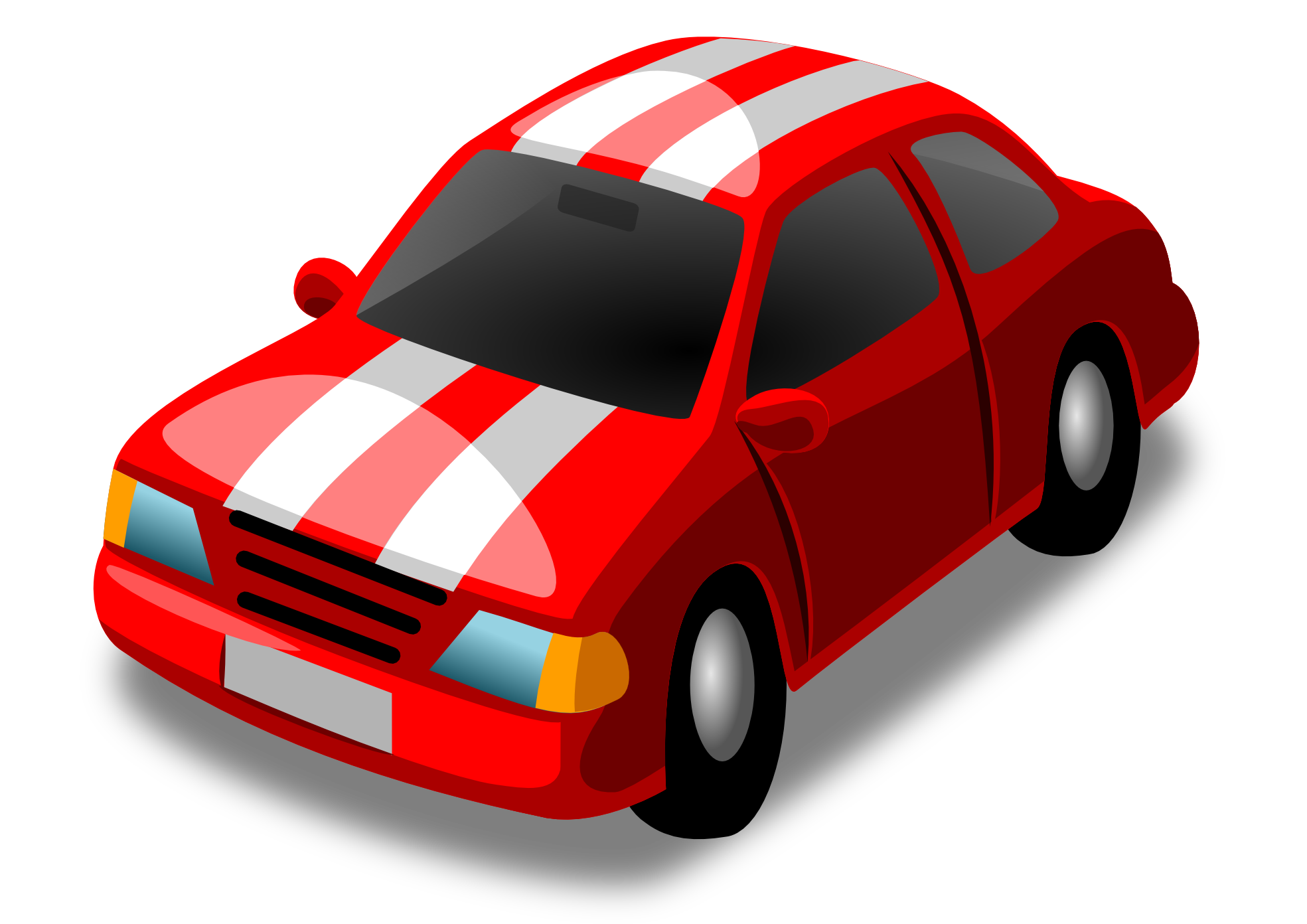 1969x1392 Red Car Clip Art Viewing Gallery Red Car, Police Car, Car Logo