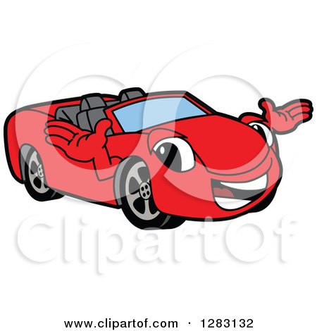 450x470 Royalty Free (Rf) Clipart Of Cabriolets, Illustrations, Vector