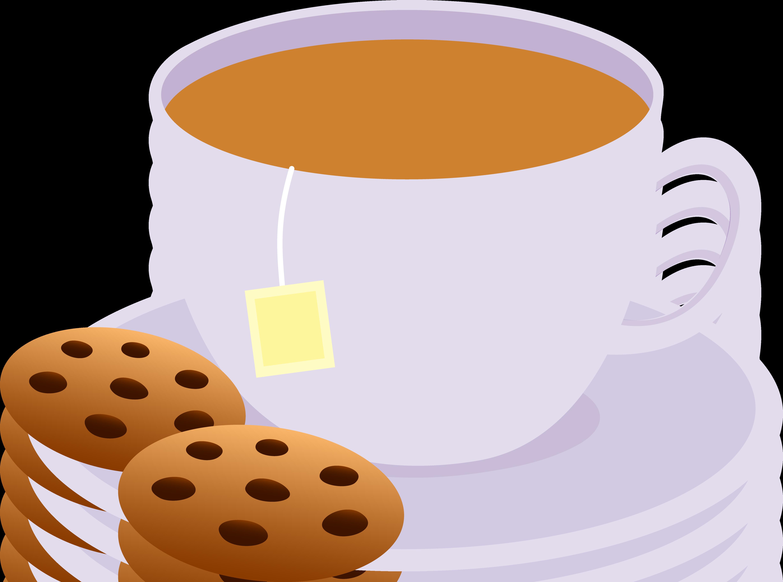 4908x3648 Cafeteria Clipart Cup Tea
