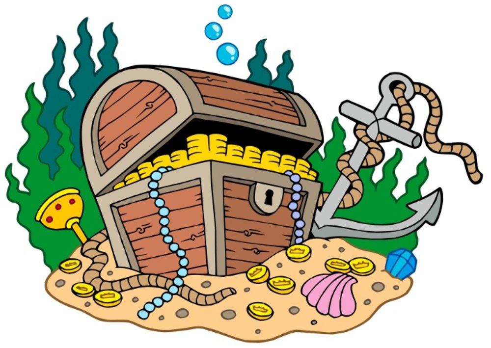 1000x709 Chest Clipart Treasure Hunt