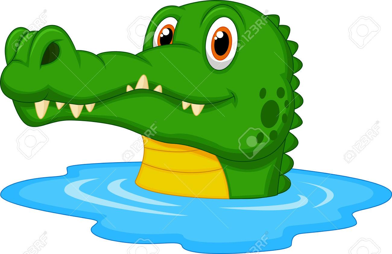 1300x841 Alligator Clipart Comic