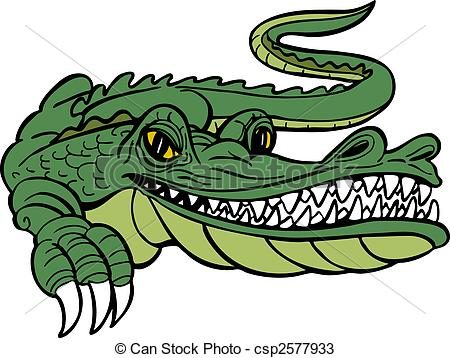 450x358 Caiman Clipart Aligator