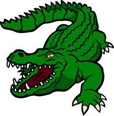 236x240 Crocodile Clipart