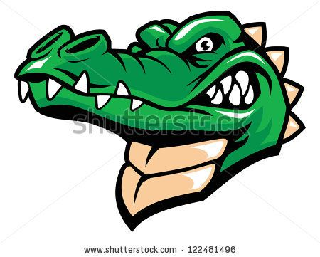 450x361 Crocodile Clipart