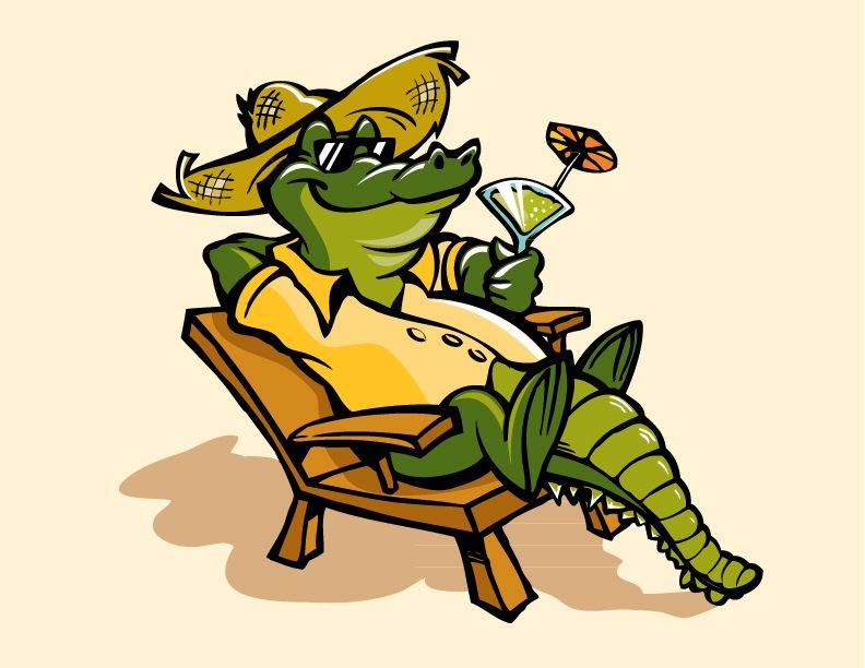 792x612 Gator Illustration
