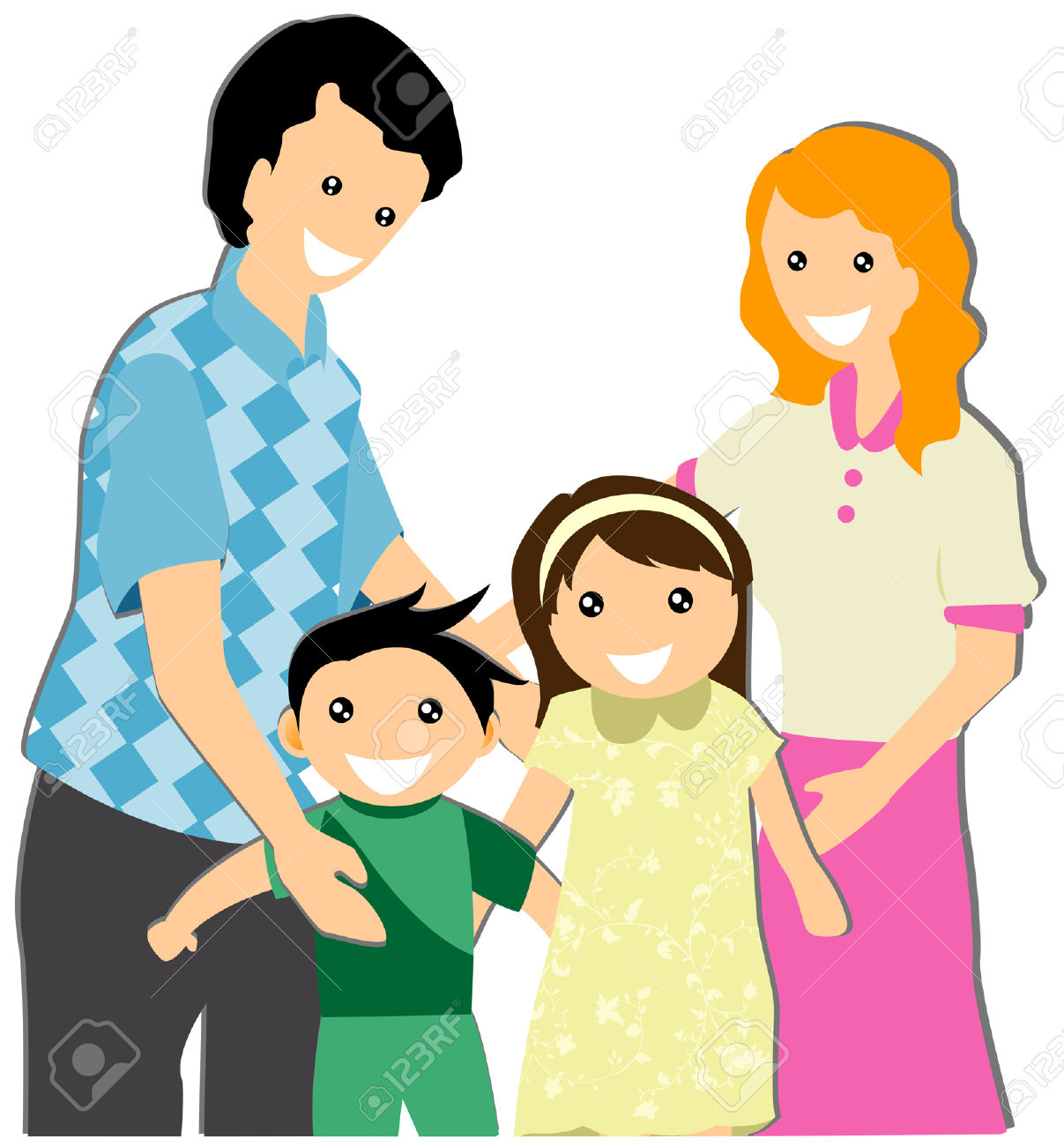 1207x1300 Clipart Family Group