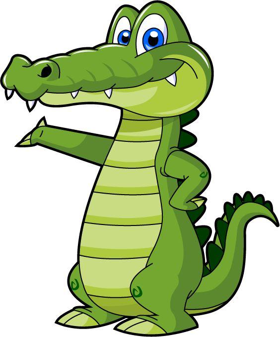 564x677 Caiman Lizard Clipart