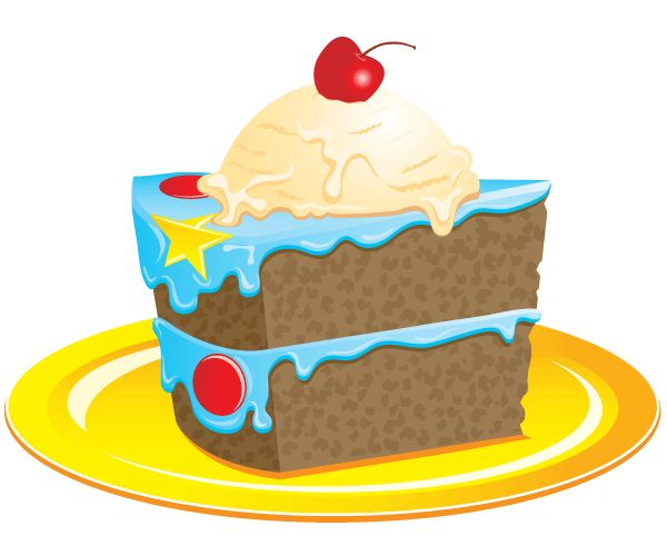 600x482 Art Cake Birthday Cake Clipart 4 Cakes