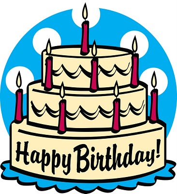 366x400 Image of Birthday Cakes Clipart