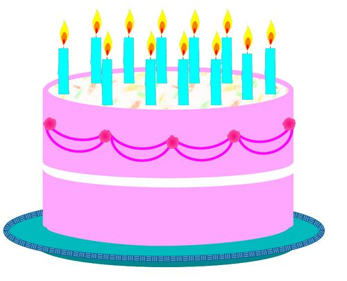 500x406 Birthday Cake Clip Art Birthday Cake Pictures Clip Art Birthday