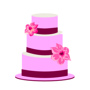 300x300 Tiered Cake Clip Art