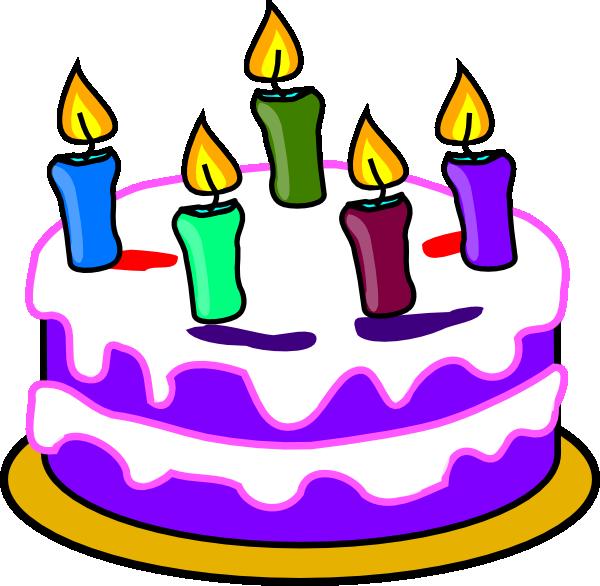 600x586 Birthday Clip Art Birthday Cake Clip Art