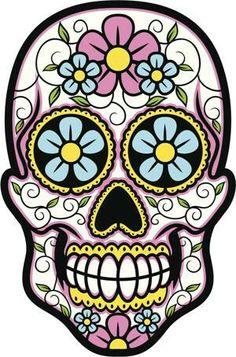 236x357 Day Of The Dead Skull Clipart Clip Art, Sugar Skulls Clipart Clip
