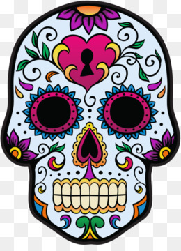 260x360 Free Download Calavera Day Of The Dead Skull Mexican Cuisine Clip